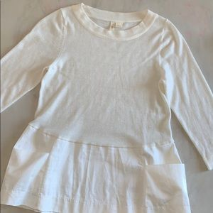 *Anthropologie* Sweater Top w/pockets
